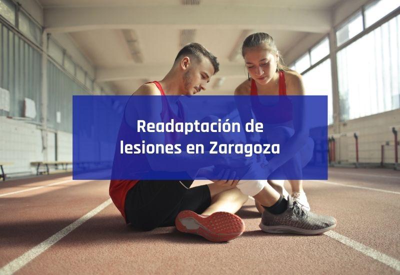readaptación de lesiones en Zaragoza